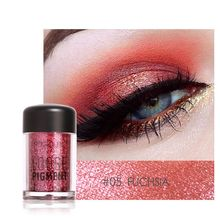 Pro Makeup Glitter Eyeshadow Shimmer Pigment Loose Powder Beauty Makeup Nude Eye Shadow