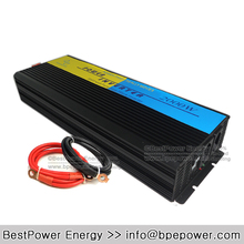 High Efficiency 2000W Power Inverter, DC12V/24V/48V to AC110V/220V Pure Sine Wave Inverter for Off Grid Solar Wind Power System