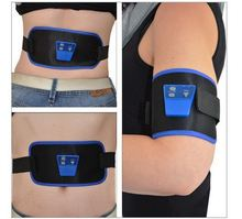 2017 New Belt Popular ABGymnic Electronic Body Muscle Arm leg Waist Abdominal Massage Exercise Toning Belt Slim Fit Hot Selling(China)