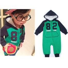 Baby Rompers Limited Promotion 2016 Baby Boy Newborn Autumn And Winter Knitting Cotton Fashion Rompers Clothes Childrens Hoodie