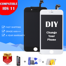 1/PC Black MLLSE For iPhone 6S Plus 4G 4S 5C 5S 5 6G 6+ PLUS LCD Display Pantalla Touch Screen Digitizer Assembly Replacement