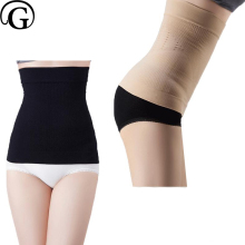 PRAYGER Wholesale 100pcs Women Body Shaper Waist Tummy Slimming Belly Seamless Belt Waist Cincher Control Corset Underbust(China)