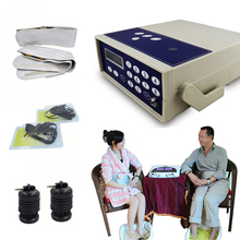 ionic foot detox machine health care ion cleanse detox foot spa bath device far infrared belt and waist band Foot massager