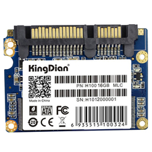 KingDian 1.8 inch Half Slim SATA II H100 Small Capacity SSD Promotion Internal Solid State Drive Speed Upgrade Kit(China)
