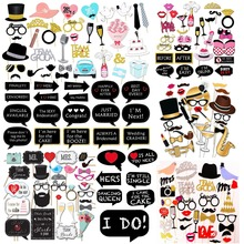 wedding decorations Photo Booth Wedding Party Decoration Night Out DIYGames Hen Party Bride Shower Bachelorette Photobooth Props