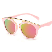 2017 Vintage Kids Sunglasses Brand Sun glasses Children Glasses UV400 Girls Cute Designer Fashion Oculos De Sol Infantil Hipster