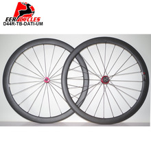 1088g Only Deercycles 700c 44mm Carbon Tubular Road Bike Wheels UD Matte Bicycles Wheel set DATI R1 Super Light hubs 20H/24H(China)