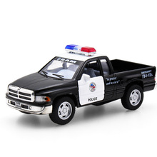 Hot sell 1:32 Pickup Truck Vehicle Diecast Alloy Metal Luxury Car Model Collection Model Pull Back Toys Car Gift For Boy(China)