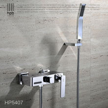 HPB Brass Bathroom Hot And Cold Water Bathtub Mixer Bath Shower Faucet torneira banheiro HP5407