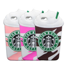 4 4S Starbuck Cases For iPhone 4 4S Coffee Cup Silicone Phone Cover