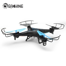 Best Deal Eachine E5C With 2.0MP HD Camera 2.4G 4CH 6Axis Headless Mode One Key Return RC Quadcopter RTF With Sunglasses Toy