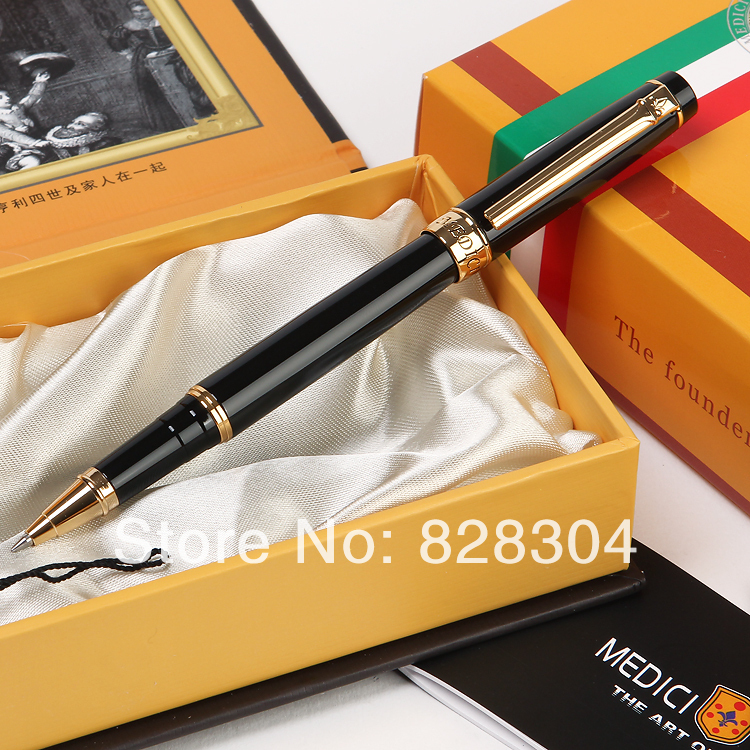 High quality genuine pen Medici eternal Rome roller pen, free shipping<br>