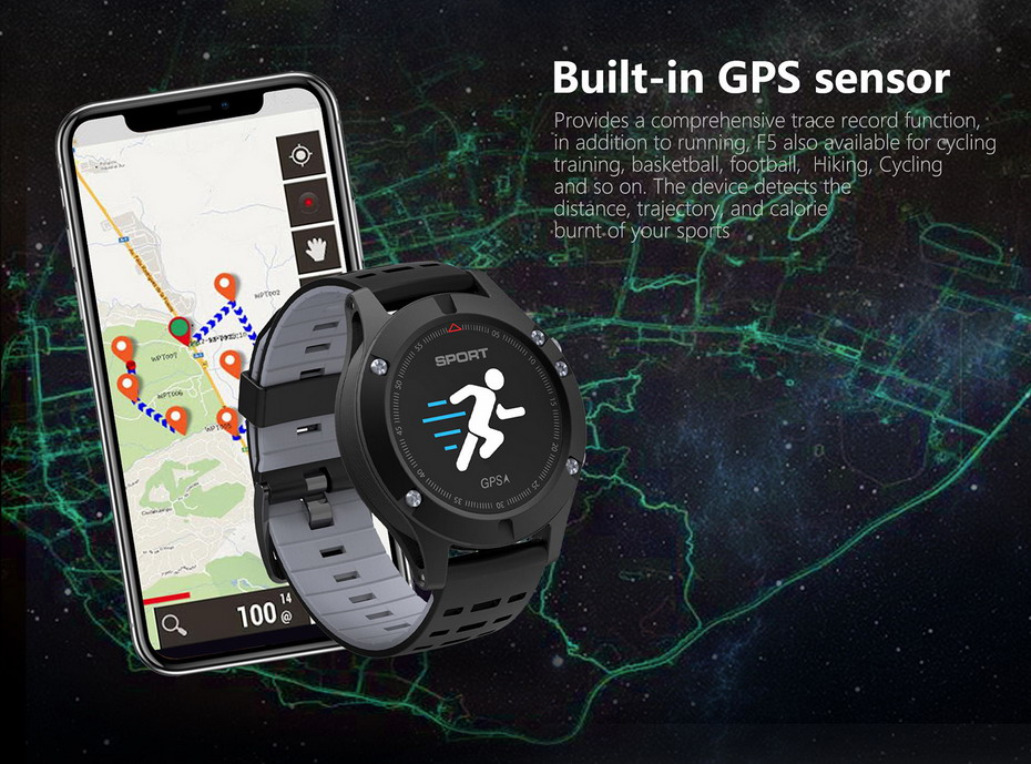 DTNO.1 F5 GPS Smart watch (4)