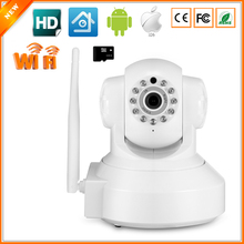 P2P 720P IP Camera Wifi Wireless Mini CCTV Camera Baby Monitor Security P/T Micro TF Card Surveillance Camera IOS & Android APP