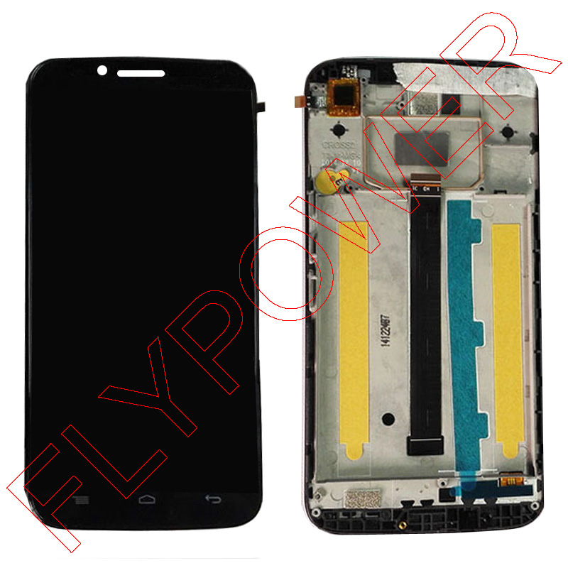 Alcatel one touch Flash Plus 7054T OT-7054T LCD Screen Display With Touch Screen Digitizer +Frame Assembly; 100% Warranty<br>