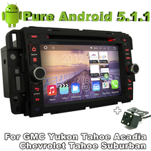 Pure Android 5.1.1 Car DVD for Chevrolet Express Traverse Tahoe Suburban 2007-2012 With Quad Core 2G ROM Bluetooth Camera