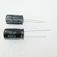20PCS/LOT Aluminum electrolytic capacitor 10uF 400V 10*16 Electrolytic Capacitor 400v 10uf(China)