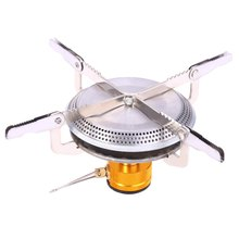 Outdoor Picnic Camping Hiking BBQ Portable Gas Burners Mini Stove Head(China)