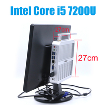 Fanless Core i5 7200U Mini PC Windows 10 Nettop NUC i5 Small Linux PC i3 7100U Set Top Box 7Th Gen Kaby Lake Intel Computer Mini