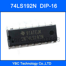 20PCS SN74LS192N 74LS192 74192 Synchronous Up / Down Decade Counter (dual clock lines) IC Chip DIP-16