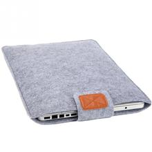 11in/13in/15in Fashion Felt Pure Color Pad/Laptop Case Protection Cover Soft Liner Sleeve Bag For Man Women Students