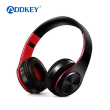 ADDKEY NEW colorful stereo Audio Mp3 Bluetooth Headset Wireless Headphones Earphone support SD card with mic play 10 hours