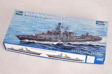 trumpeter 1/700 05721 Russian Navy Slava Class Cruiser Varyag  Assembly Model kits building scale model ship 3D puzzle ship