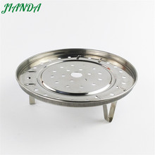 JIANDA Stainless Steel Steamer Plate Collapsible Steaming Fish Poacher Food Vegetable Basket Cooking Microwave Draining Rack(China)