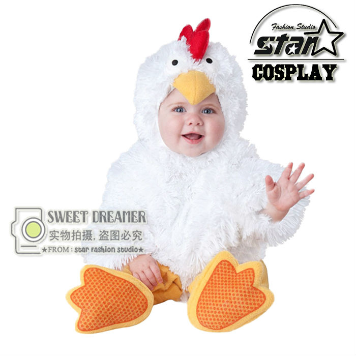Christmas Costumes Children Animal Cosplay Rompers Inflatable Funny Chick Fancy Kids Baby 7-24M Halloween Costume Disfraces <br><br>Aliexpress