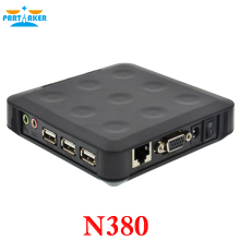 N380 WIN.CE 6.0 thin clients wtih 3 USB ports ARM11 800MHz 128M RAM 128M Flash turn one into 100 users or more black color
