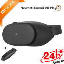 In Stock Original Xiaomi Mi VR Play 2 Immersive Virtual Reality 3D Glasses Xiaomi for 4.7-5.5 Smart Phone 1080P with Controller