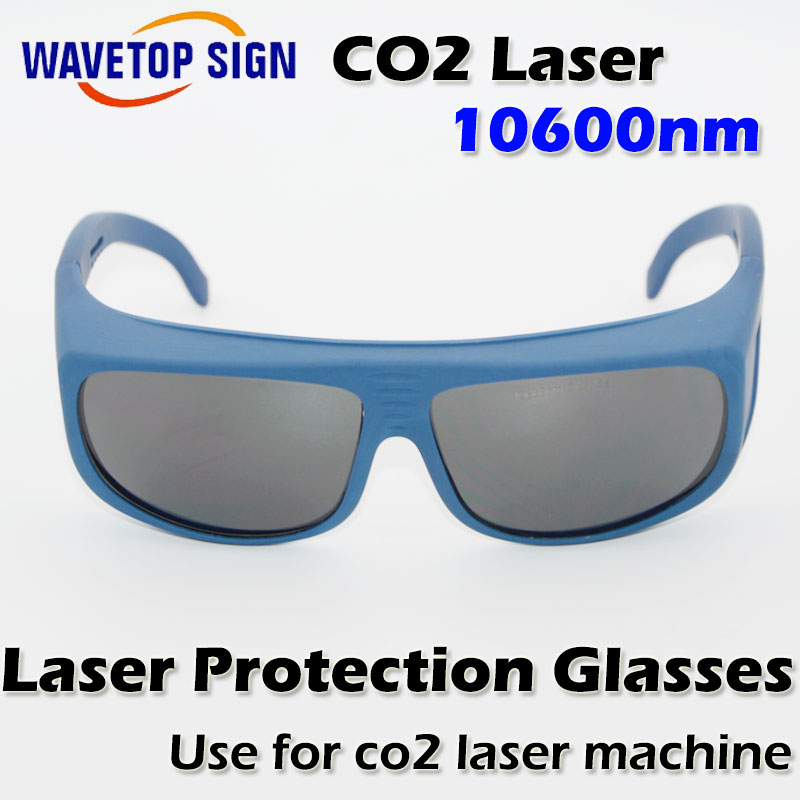 CO2 laser   protection glasses  use for co2 laser machine 10.6nm laser protective glasses<br>