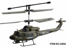 Hot Selling Black Hawk UH-60 Simulation Remote Radio Control Mini RC Helicopter RC 3.5 CH Gyro UDI U1 KIds Toys For Child Drone(China)