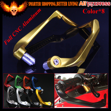 "Universal 7/8"" 22mm Motorcycle Handlebar Brake Clutch Levers Protector Guard for kawasaki ZZR/ZX1400 GTR1400 VERSYS 1000 ZZR600"