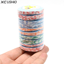 XC USHIO 10pcs/set 20*25cm Mini Outdoor Travel Disposable Compressed Face Hand Towel Camping Portable Magic Bath Towel Washcloth