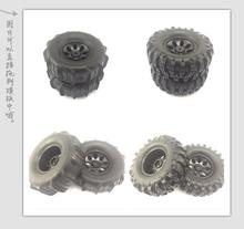 "1/10 RC Cralwer SC Truck 1.9""Wheels/Tires(2PC)108mm Fit Axial SCX10 RC4WD LWB TF2 LC70 Gelande II Cruiser/FJ40 hilux d90 d110 G2"