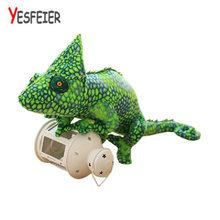 All size 80cm Lizards doll pillow creative personality simulation spoof smile chameleon plush toys boys and girls birthday