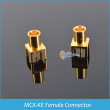 Sindax MCX-KE connector RF Connectors MCX female straight connector PCB Installation straight connector 10pcs/lot(China)