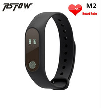 2017 New M2 Smart Bracelet Wristband 0.42 Inch OLED Screen IP67 Waterproof Support Heart Rate Monitor better than Xiaomi band 2