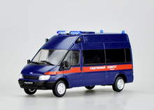 Special offer Out of print DEA 1:43 Russian police Ford Transit Alloy car models The new plastic packaging Favorites Model