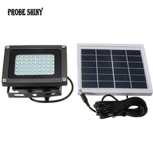 Sensor Waterproof IP65 54 LED Solar Light 3528 SMD Solar Panel LED Flood Light Floodlight Outdoor Garden Security Wall Lamp