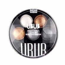 UBUB 5 Colors Eyeshadow Pallete Personal Use Women Facial Makeup Pigment Cosmetic Eye Shadow Natural Waterproof Long Lasting New(China)