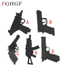 FGHGF submachine gun usb flash drive pendrive 4G 8G 16G 32G handgun ak47 thumb drive usb 2.0 cartoon pistol pendrives(China)