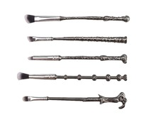 Harry Potter magic wand magic makeup brush set makeup brush 5 piece set of beauty tools