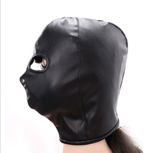 penalties bound products, manufacturers of soft black PU wholesal Interesting adult products, eyes, hoods, masks, leather masks,(China)