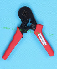 HSC8 6-4 SELF-ADJUSTABLE CRIMPING PLIER 0.25-6mm2 AWG23-10 terminals crimping tools multi tools hands pliers Ali HSC8 6-4 Red