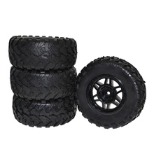 RC 1:10 Short Course Truck Tires Tyre and Wheel Rims for Traxxas Slash HPI Pro-Line Racing(China)