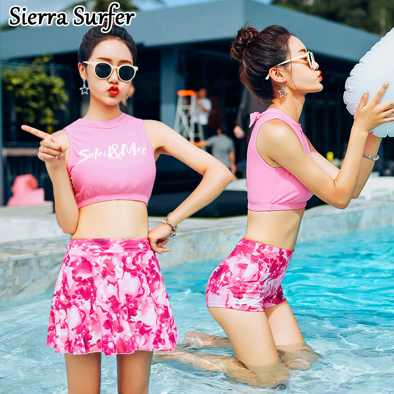 Swimming Suit Women Sexy Swimsuit May Beach Cheap Bathing New 2018 Three Piece One Undertakes Biquine Feminino Biquini Mayo De<br>