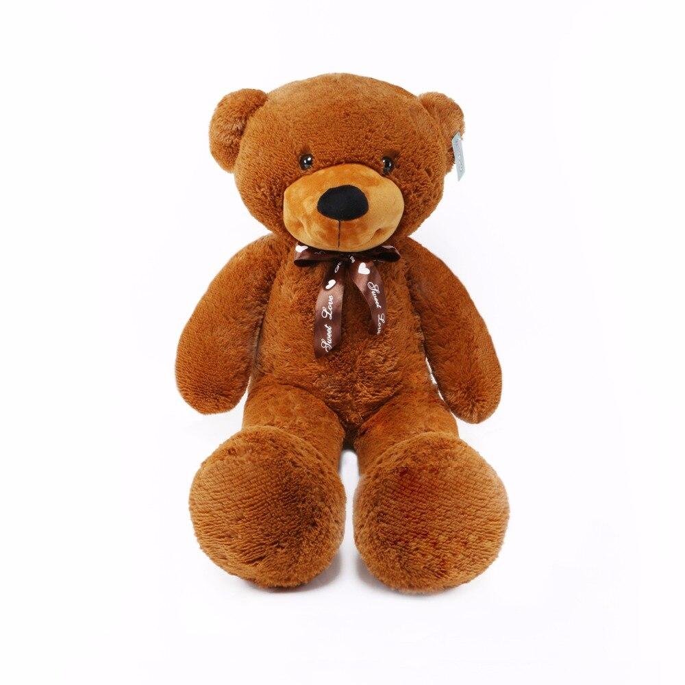 Joyfay 100cm 1m 39 Brown Giant Teddy Bear Big Stuffed Plush Animal Huge Soft Toy Best gift for Birthday Valentine Anniversary<br>