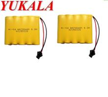 YUKALA RC truck RC car /RC tank/ RC boat 6.0v 700mAh Ni-CD AA battery(SM plug) free shipping(China)
